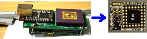 Circuit re-design has reduced multiple PCB system to a single multilayer board with SMT components only.